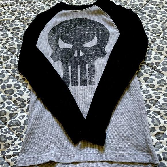Marvel Punisher Long Sleeve Shirt